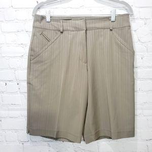 Nike golf dri fit UV brown shorts small size 4 new